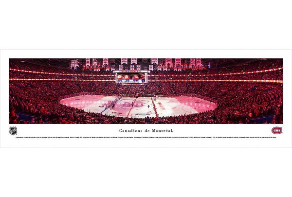 NHL Montreal Canadiens - Anthem by Christopher Gjevre Photographic Print by Blakeway Worldwide Panoramas, Inc