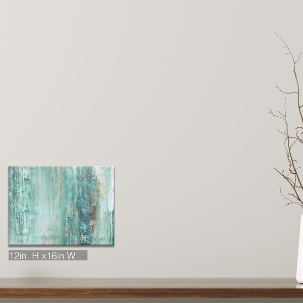 Abstract Spa Wrapped Graphic Art Print On Canvas By Beachcrest Home.