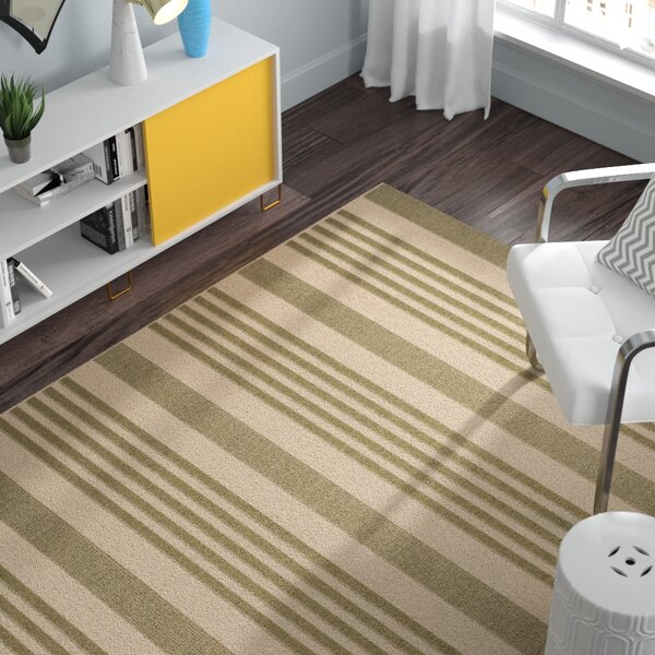 Sophina Green/Beige Indoor/Outdoor Area Rug by Zipcode Design