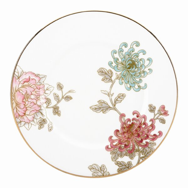 Painted Camellia 9 Accent Charger by Marchesa by Lenox