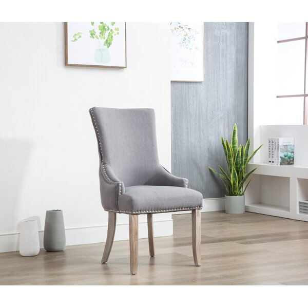 Amazing Kolby Upholstered Dining Chair (Set Of 2) By Ophelia & Co. Comparison