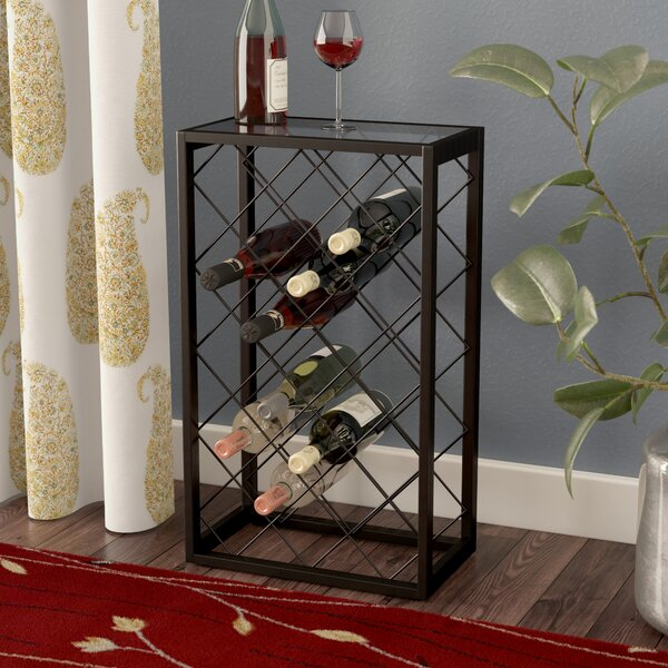 Medlin 23 Bottle Floor Wine Rack by Red Barrel Studio