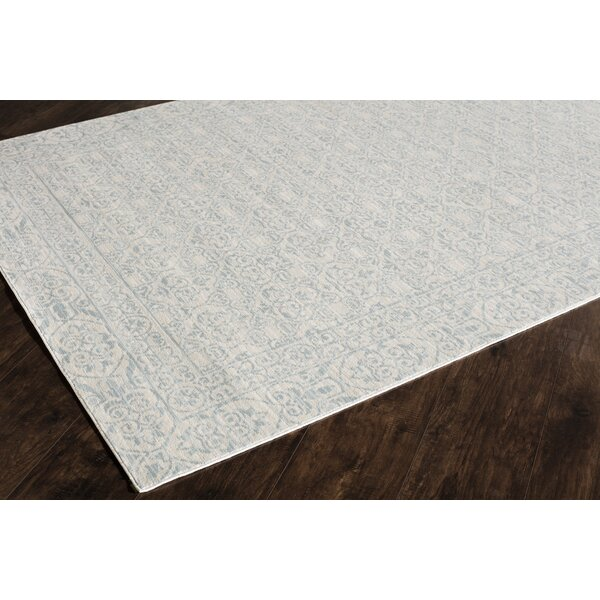 Wilshire Blue/Ivory Area Rug by CosmoLiving by Cosmopolitan