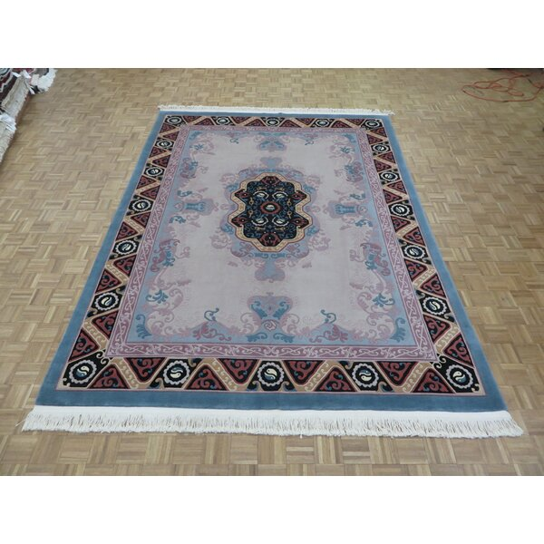 One-of-a-Kind Rainer Hand-Knotted Taupe Area Rug by Astoria Grand