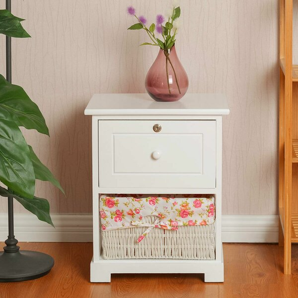 Vesta 1 Drawer Nightstand by August Grove