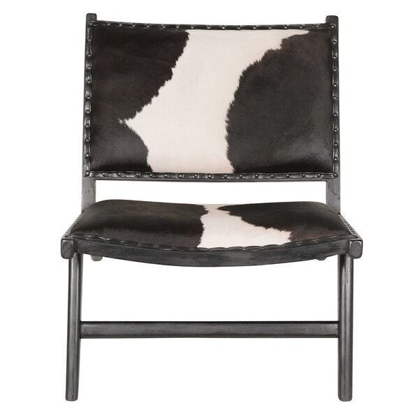 Harley Low Rider Cowhide Lounge Chair by Joseph Allen