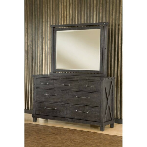Kenneth 7 Drawer Double Dresser by 17 Stories