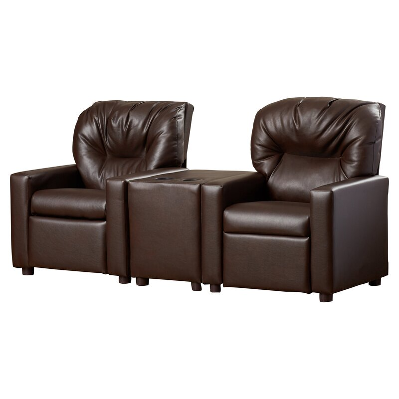 Theater Kids Recliner with Cup Holder  sc 1 st  Wayfair & Dozy Dotes Theater Kids Recliner with Cup Holder \u0026 Reviews | Wayfair islam-shia.org