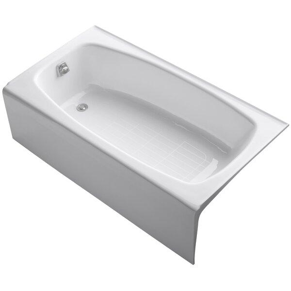 Dynametric Alcove 60 x 32 Soaking Bathtub by Kohler