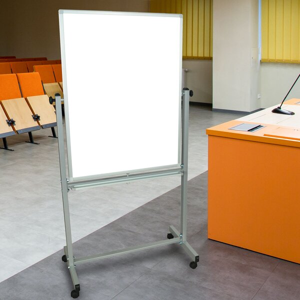 Magnetic Reversible Whiteboard, 30 x 40 by Luxor