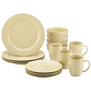 Cucina 16 Piece Dinnerware Set, Service for 4