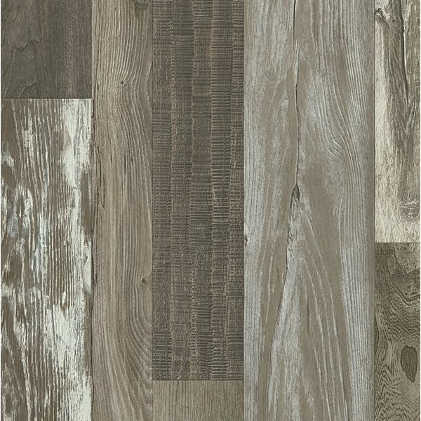 Architectural Remnants 8 x 48 x 12mm Oak Laminate Flooring in Old Original Barn Gray by Armstrong Flooring
