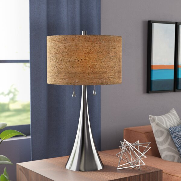 Haugland 30 Table Lamp by Mercury Row