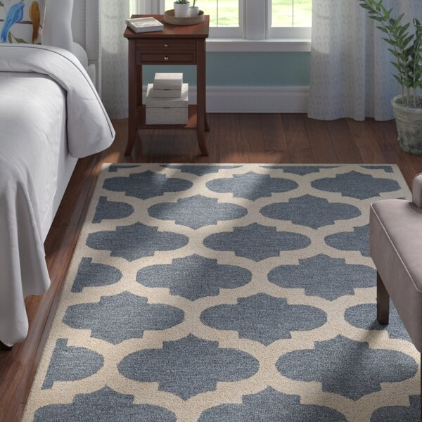Boise Hand-Tufted Blue Area Rug by Andover Mills