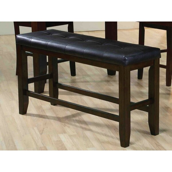 Garvin Leather Bench by Red Barrel Studio