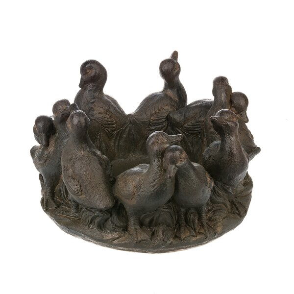 Duck Birdbath by Midwest Seasons