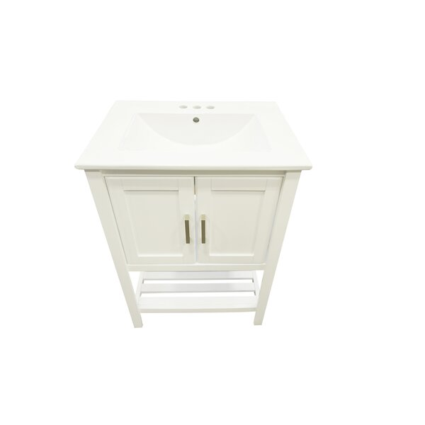 Freels 24 Single Bathroom Vanity Set by Charlton Home