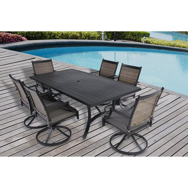 Zapata 7 Piece Dining Set by Alcott Hill