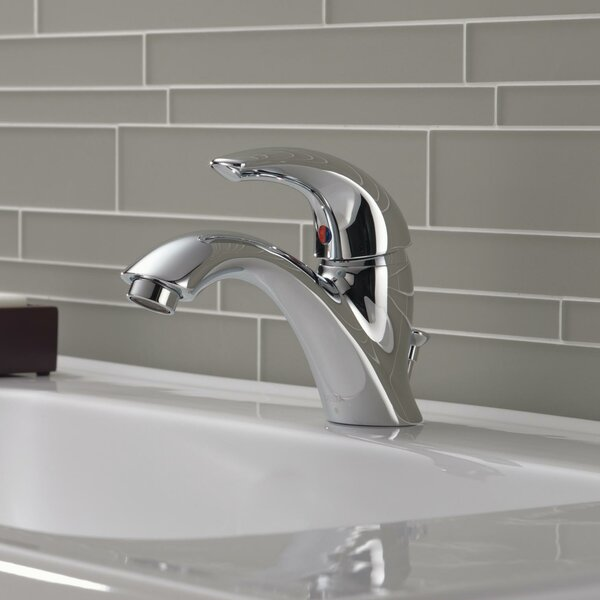 C Spout Series Single Hole Bathroom Faucet with by Delta