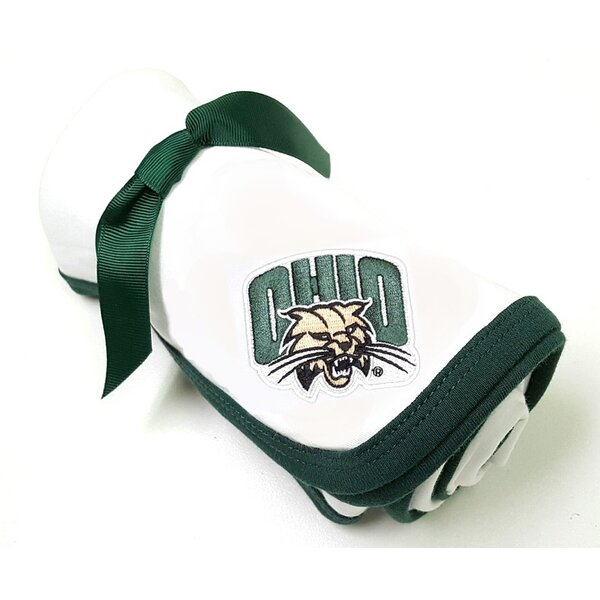 Ohio Bobcats Baby Baby Receiving Blanket by Future Tailgater