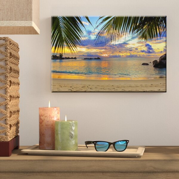 Photographic Print on Wrapped Canvas by Bay Isle Home