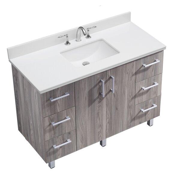 IN Series 48 Single Bathroom Vanity Set by InFurniture