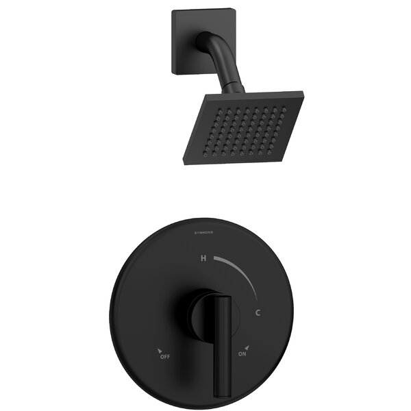 Dia Thermostatic Tub and Shower Faucet with Valve by Symmons