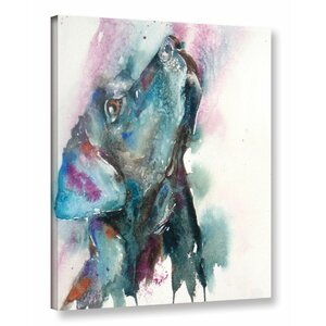 Lab Black Painting Print on Wrapped Canvas by Latitude Run