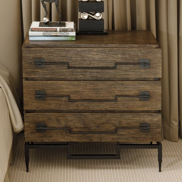 3 Drawer Wide Chest by Global Views