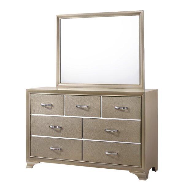 Raegan 7 Drawer Standard Dresser/Chest by Rosdorf Park