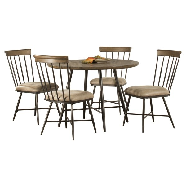 Bonella 5 Piece Round Dining Set by August Grove