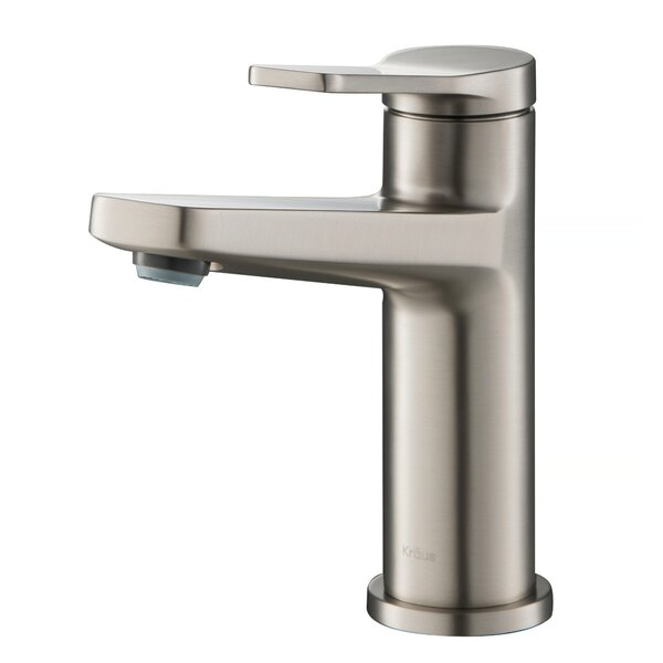 Indy Single Hole Bathroom Faucet with Drain Assembly (Set of 2)