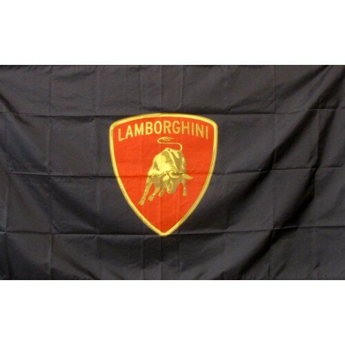 Lamborghini Polyester 3 x 5 ft. Flag by NeoPlex