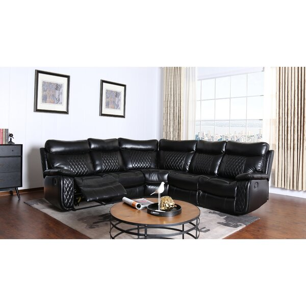 Bakken Reclining Sectional by Winston Porter
