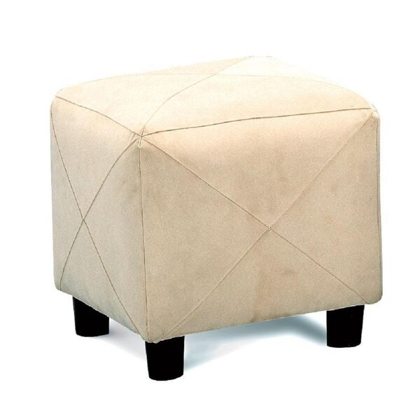 Goble Cube Ottoman by Charlton Home