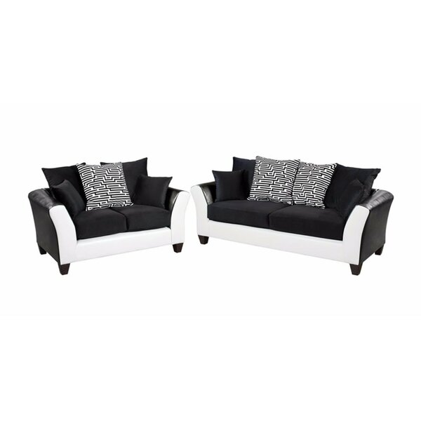 Winburn Velvet 2 Piece Living Room Set by Latitude Run