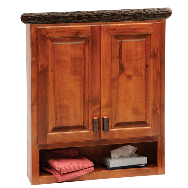 Hickory 32 W x 36 H Wall Mounted Cabinet by Fireside Lodge