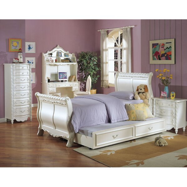 Eshelman Sleigh Configurable Bedroom Set by Harriet Bee