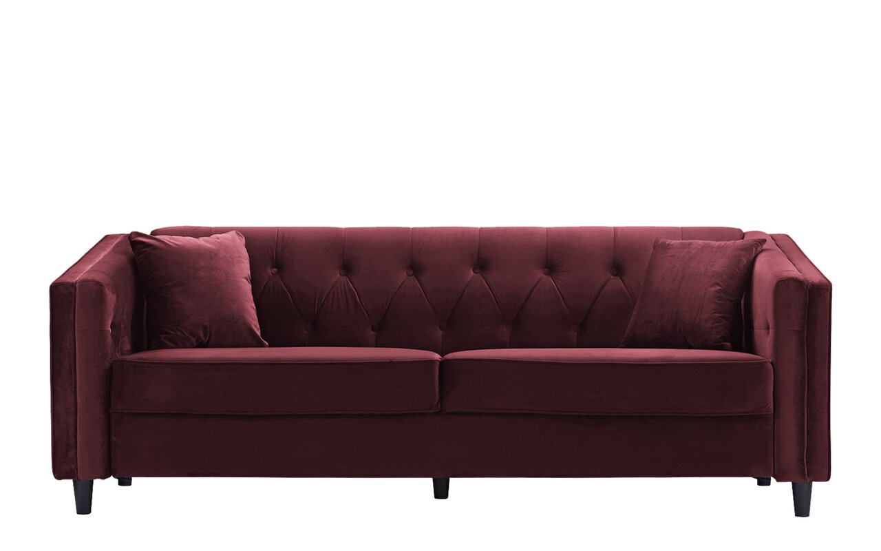 Amberwood Classic Living Room Couch Sofa With Tufted