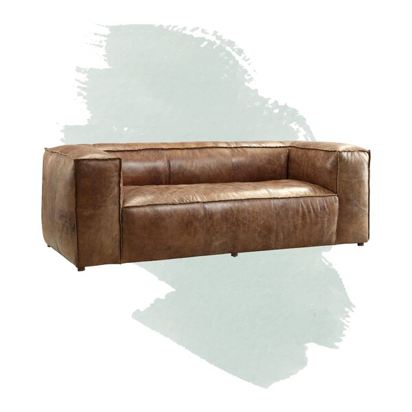 Analise Leather Chesterfield 98