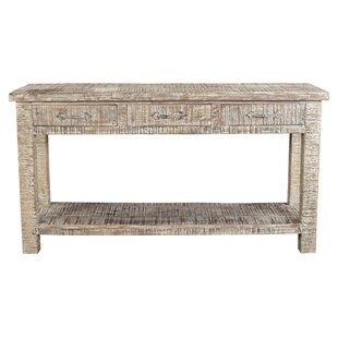 DeGenova 3 Drawer Console Table