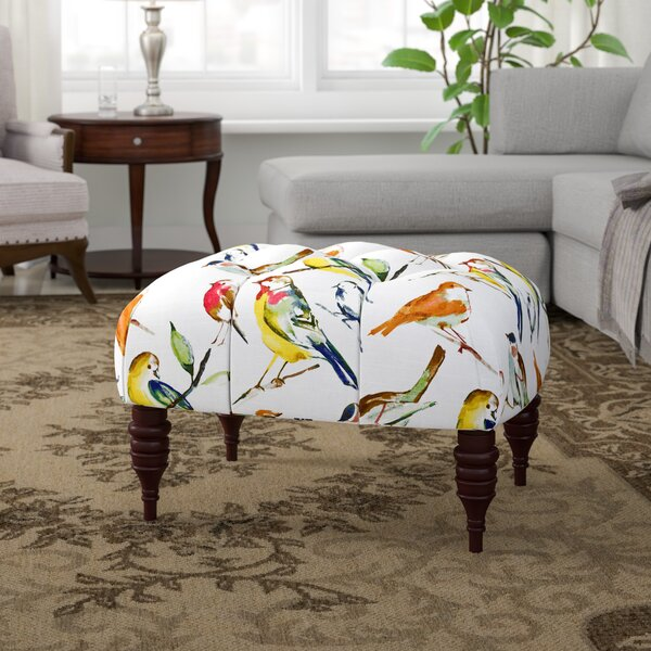Jamestown Cocktail Ottoman by Alcott Hill