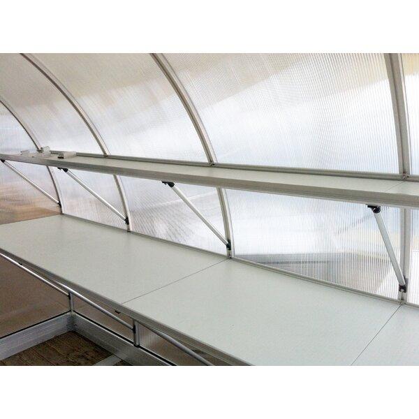 Riga IV Greenhouse Top Shelf by Hoklartherm