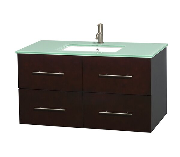 Centra 42 Single Bathroom Vanity Set by Wyndham Collection
