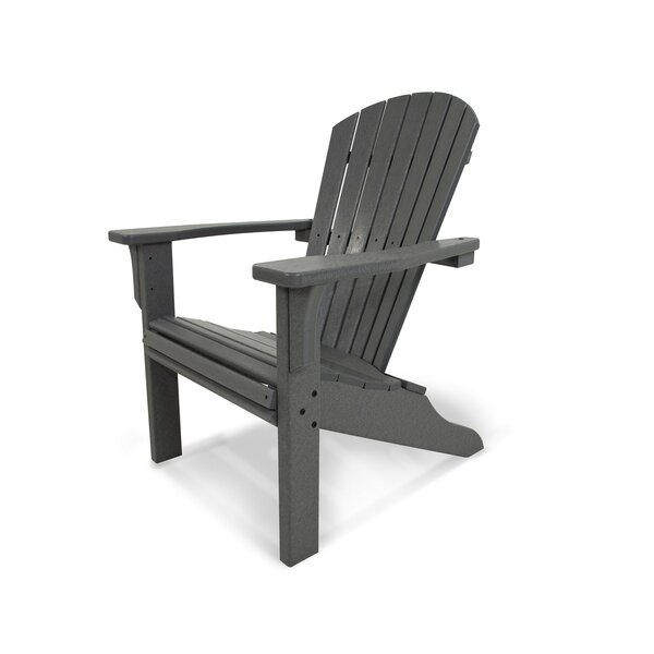 Seashell Recycled Plastic/Resin Adirondack Chair by POLYWOOD POLYWOOD®