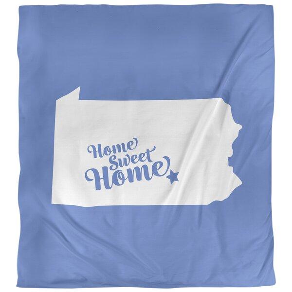 Home Sweet Harrisburg Single Reversible Duvet Cover