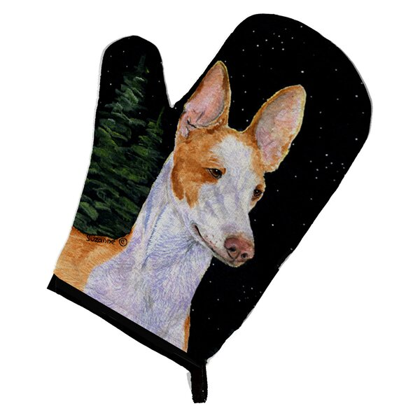 Starry Night Ibizan Hound Oven Mitt by Caroline's Treasures