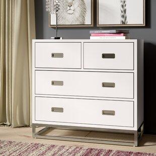 Affordable Tazewell 4 Drawer Dresser ByGreyleigh
