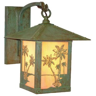 Great deal Timber Ridge 1-Light Outdoor Wall Lantern By Arroyo Craftsman