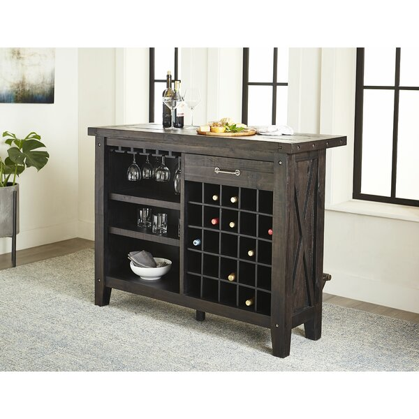 Langsa Bar With Wine Storage By Laurel Foundry Modern Farmhouse
